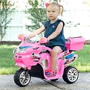 Lil' Rider 3 Wheel Battery Powered FX Sport Bike, Pink (80-109P)