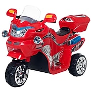 Lil' Rider 3 Wheel Battery Powered FX Sport Bike - Red (80-109R)