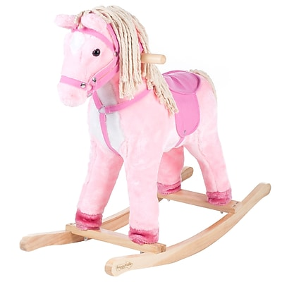 Happy Trails Pink Patty the Pony with Cotton Hair & Tail (80-BF851)