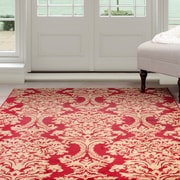 Lavish Home Oriental Area Rug 8'x10' - Red & Gold (62-024-810)