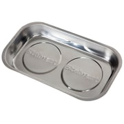 Stalwart Stainless Steel Rectangular Magnetic Parts Tray - 9 x 5 inch (M550013)