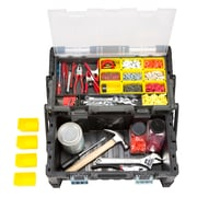 Stalwart Parts & Crafts Tiered Storage Tool Box - 22 Inch (75-MJ5051B)