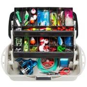 Wakeman Fishing 2 Tray Tackle Box Organizer - 14 inch (75-MJ2075)