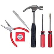 Stalwart 7 Piece BLACK Tool Kit - Household Car & Office (75-HT1007)