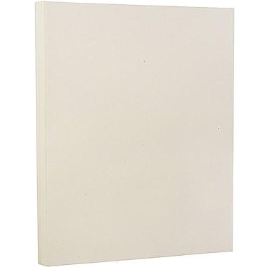 JAM Paper Papier cartonné recyclé, 8 1/2 x 11 po, 80 lb, asclépiade, 250/ramette
