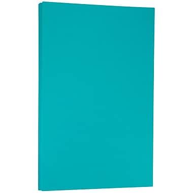 JAM PaperMD – Papier de format légal Brite Hue recyclé, 8 1/2 x 14 po, 24 lb, bleu de mer, 500/ramette