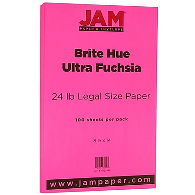 JAM Paper® Recycled Legal Paper - 8.5