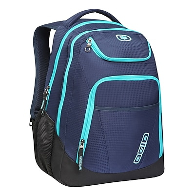 OGIO® Tribune Laptop Backpack, Blue Bora (111078.776)
