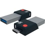 Emtec 2-in-1 16GB USB Flash Drive (ECMMD16GT203)