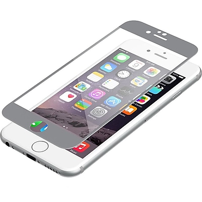 Zagg® InvisibleShield Glass Luxe Screen Protector for Apple iPhone 6, Titanium (IP6BGS-GM0)