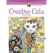 "Dover Publications ""Creative Haven® Creative Cats"" Paperback Coloring Book"