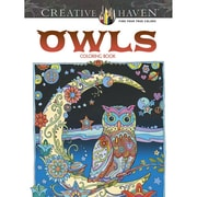 "Dover Publications ""Creative Haven® Owls"" Paperback Coloring Book"