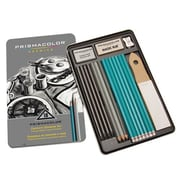 Prismacolor® Premier 18 Piece Graphite Drawing Set, Black