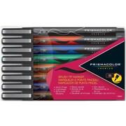 Prismacolor Premier Brush Tip Art Markers, 8 Pack