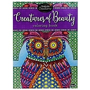 """Timeless Creations """"Creatures of Beauty"""" Coloring Book"""
