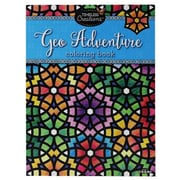 "Timeless Creations ""Geo Adventure"" Coloring Book"