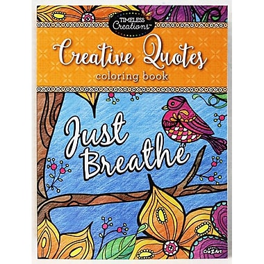 Timeless Creations Creative Quotes Coloring Book