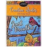 Cra-Z-Art Timeless Creations Creative Quotes Coloring Book (16271-12)