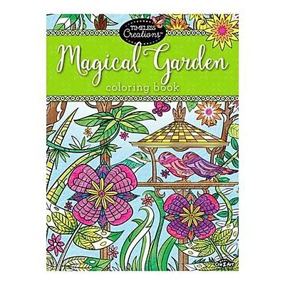Timeless Creations Magical Garden Coloring Book Staples