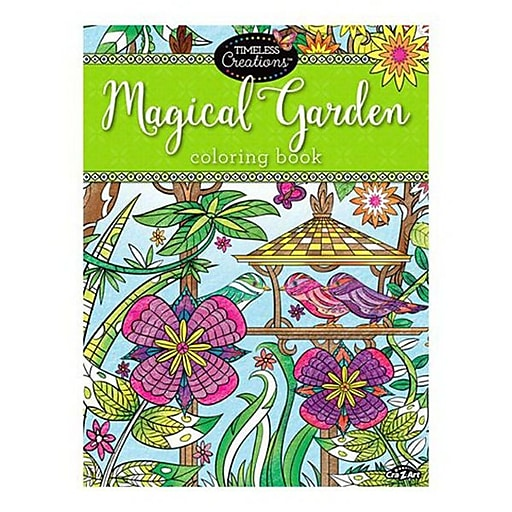 Timeless Creations Magical Garden Coloring Book