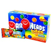 Airheads® Bites Fruit Peg Bag, Single Serve, Assorted, 18/Pack (PVM67205)