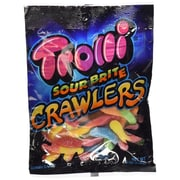 Trolli Sour Brite Crawlers Gummy Candy, 3.5 Serve, 12/Pack (TBC12)