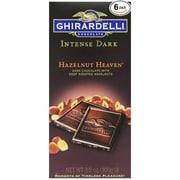 Ghirardelli Chocolate® Intense Dark Bar, 3.5 oz., Hazelnut Heaven (GIDHH12)
