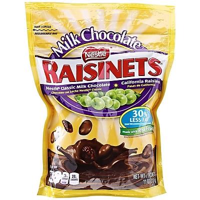 Nestle Raisinets Milk Chocolate, 11 oz. (RBAG12)