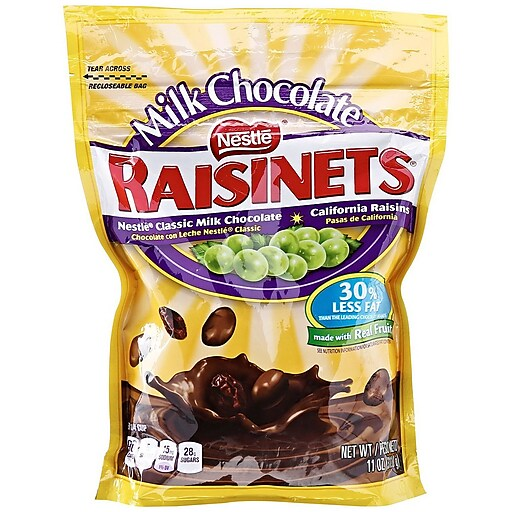 Nestle Raisinets Milk Chocolate, 11 oz. (RBAG12)