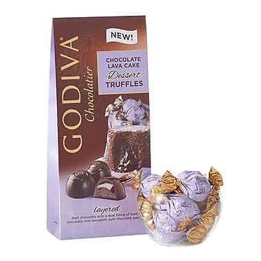 Godiva® Wrapped Dessert Truffles, 4.3 oz., Chocolate Lava Cake (GDLDT6)