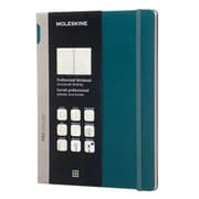 Moleskine, Professional Notebook, Extra Large, Ruled, Tide Green (891362)