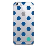 Centon OTM Floral Prints Case for iPhone 6/6S, Clear/Dotty Gone Blue (IP6V1CLR-DOT01)
