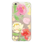 Centon OTM Floral Prints Case for iPhone 6/6S, Clear/Peonies Gone Bright (IP6V1CLR-ART13)