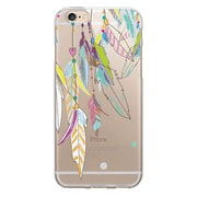 Centon OTM Floral Prints Case for iPhone 6/6S, Clear/Dream Catcher Color (IP6V1CLR-HIP09)