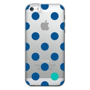 Centon OTM Classic Prints Case for iPhone 5/5S, Clear/Dotty Gone Blue (IP5V1CLR-DOT01)