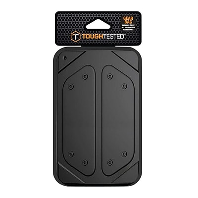 Mizco Tough Tested Tech Gear Bag, Black (TT-CS-GB)