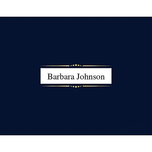 """Geographics® Premium Window Document Cover, 9 3/4"""" x 12 1/2"""", Navy Blue/Gold Foil, 5/Pack (47844)"""