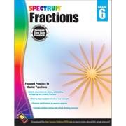Carson Dellosa™ Spectrum® Grade 6 Fractions Workbook (704513)