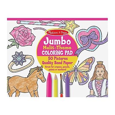 Melissa & Doug® Jumbo Coloring Pads, Ages 3+ Years (4225)