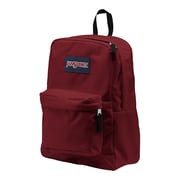 Jansport® Superbreak® Viking Red Polyester Backpack (T5019FL)