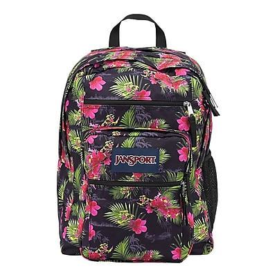 Jansport Big Student Multi Hot Tropic Polyester Backpack (TDN70DQ)