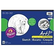 """Pacon Art1st Sketch Pad, 12"""" x 18"""", White (4747)"""