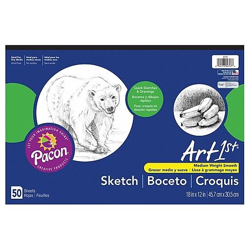 "Pacon® Art1st® 12"" x 18"" Sketch Pad (4747)"
