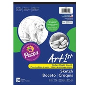 "Pacon Art1st® Sketch Pads, 9"" x 12"", 50 Sheets/Pad"