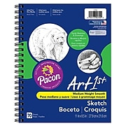"Pacon® Art1st® 8 1/2"" x 11"" Blue Sketch Diary (4794)"