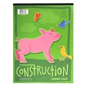 "Norcom Inc 9"" x 12"" Assorted Construction Paper Pad (78862)"