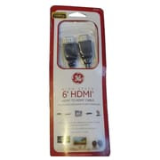 GE 24153 6' High Speed HDMI Cable