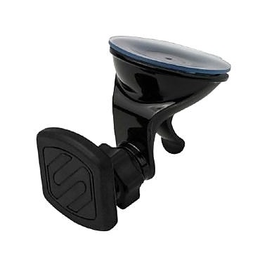 Scosche® MagicMount™ Dash/Window Suction Mount for Smartphones/Tablets, Black (MAGWSM2)