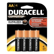 "Duracell® Alkaline ""AA"" Batteries, 4-Pack"
