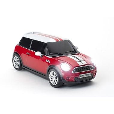 Click Car –Souris sans fil Mini Cooper S, rouge chili, (660127)
